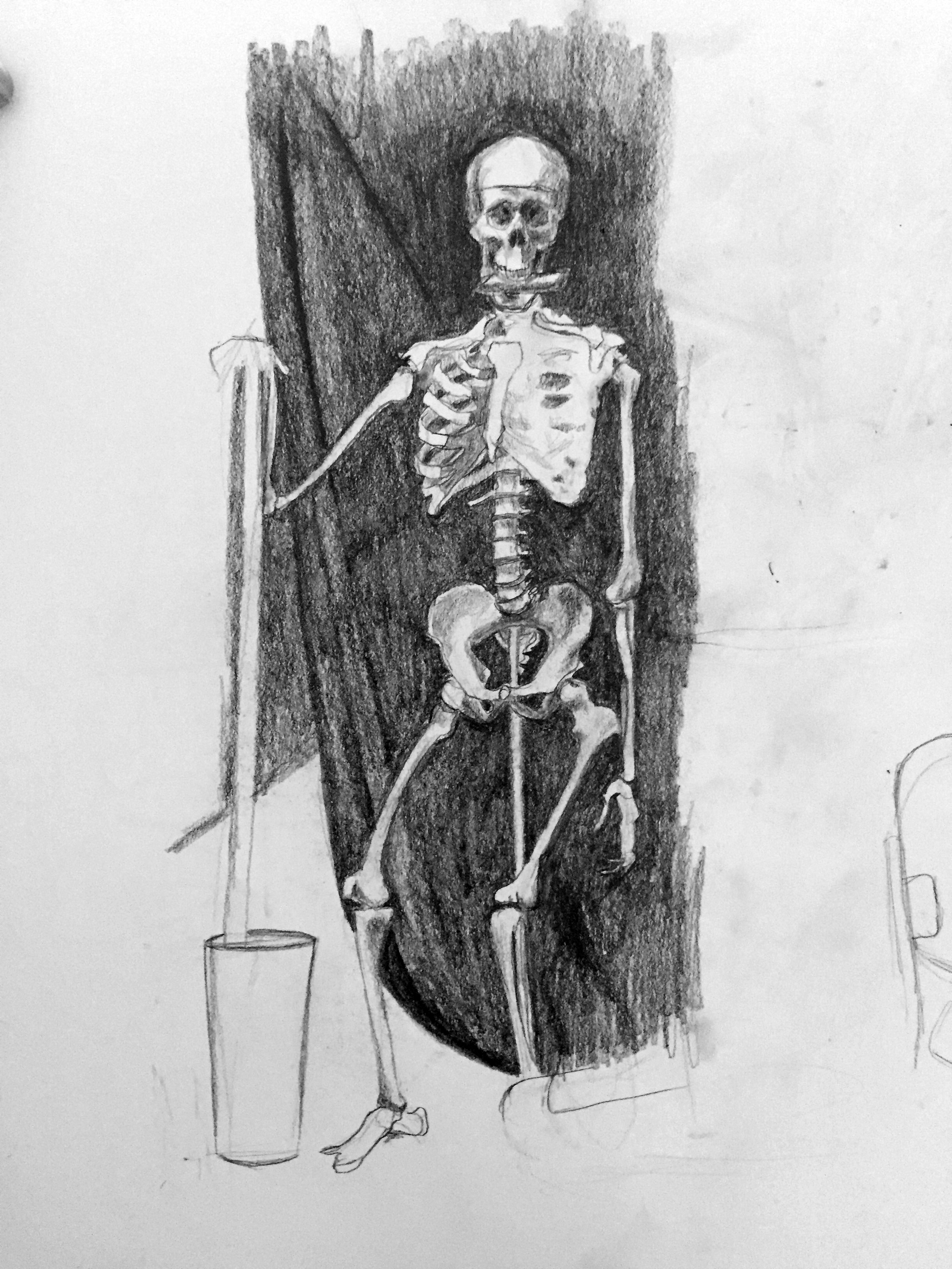 Skeleton Drawing Demo