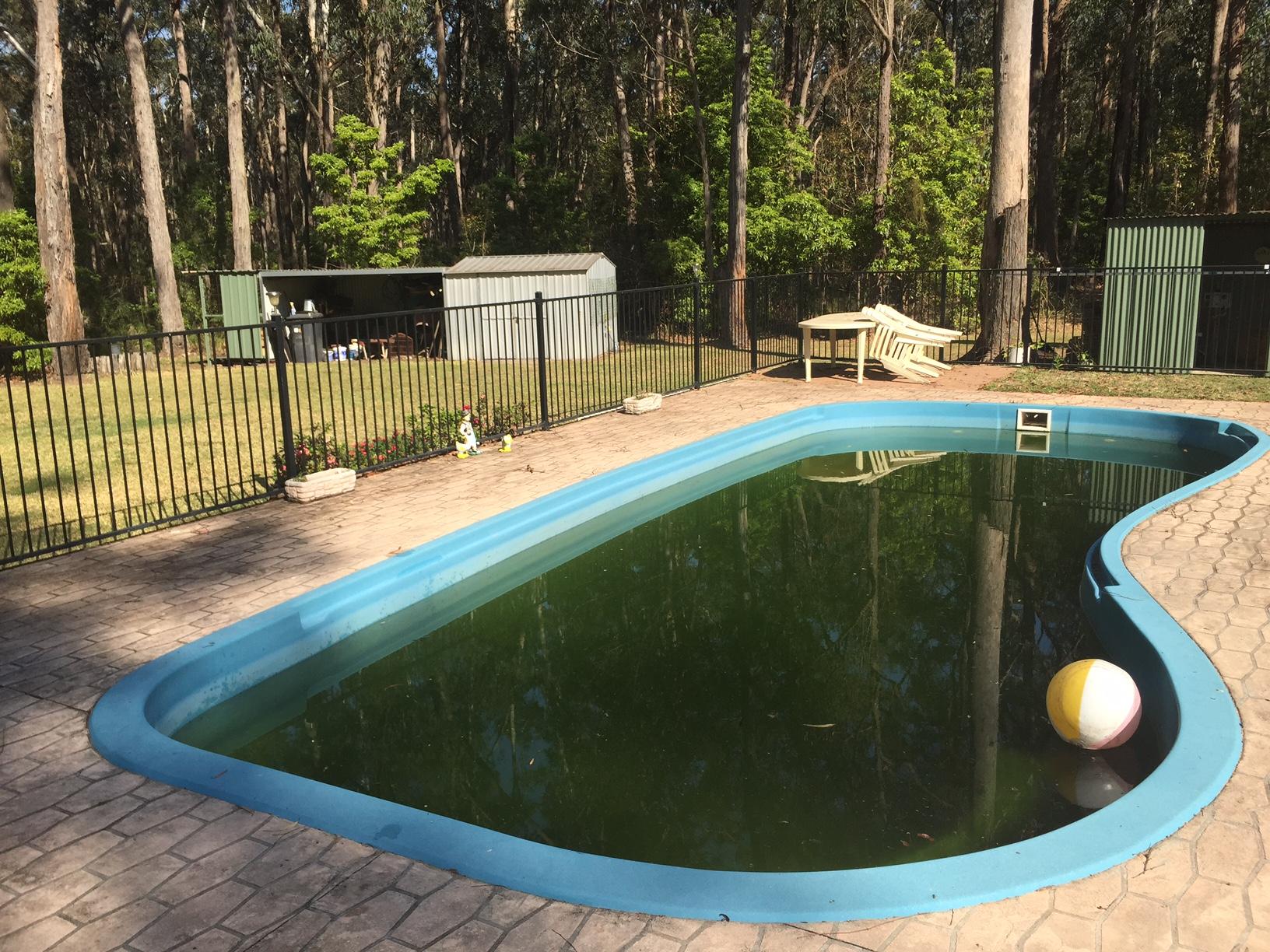 green pools