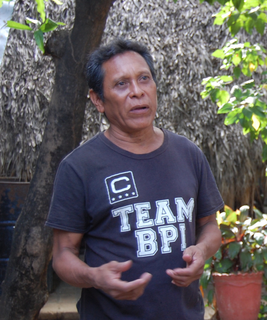 Javier Hernández (above) recalls his time as an FSLN operative during the Nicaraguan Revolution (below).    Photo: Margarita Díaz