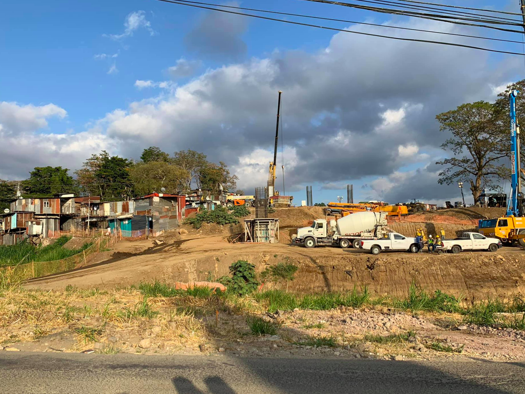 The Costa Rican government has razed parts of the squatter community Triángulo de la Solidaridad in San José to make way for a new highway. Hundreds of the Nicaraguans who lived there have already been displaced.