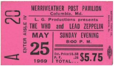 WHO'S ZEPPELIN - A Tribute to The Who and Led Zeppelin Show !