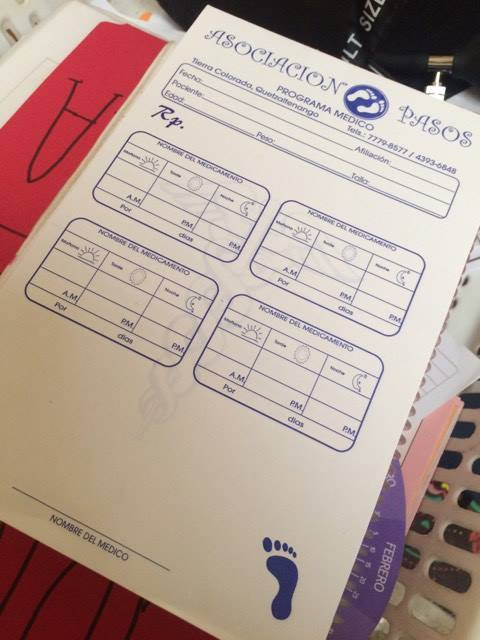 We have even updated our prescription pads with the labels!