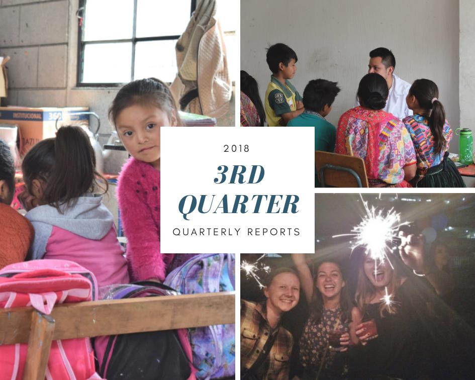 3rd Quarter 2018