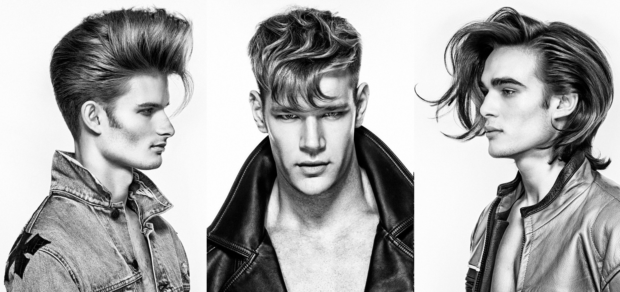 2018 North American Hairstylist Awards finalist Men's Hairstylist of the Year    Photographer Richard Monsieurs