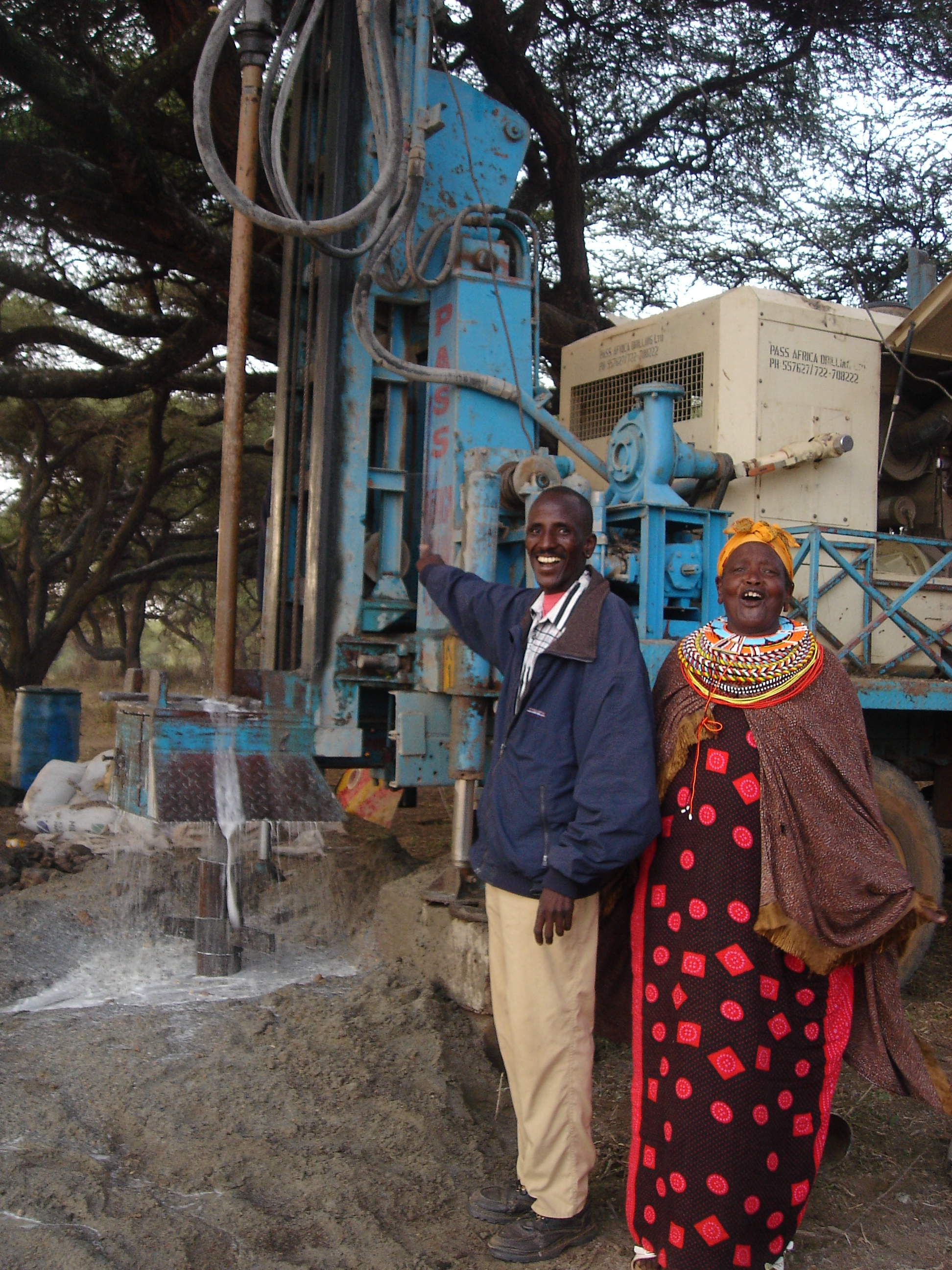 Mama Musa, Inspiration for Samburu Project and Elder