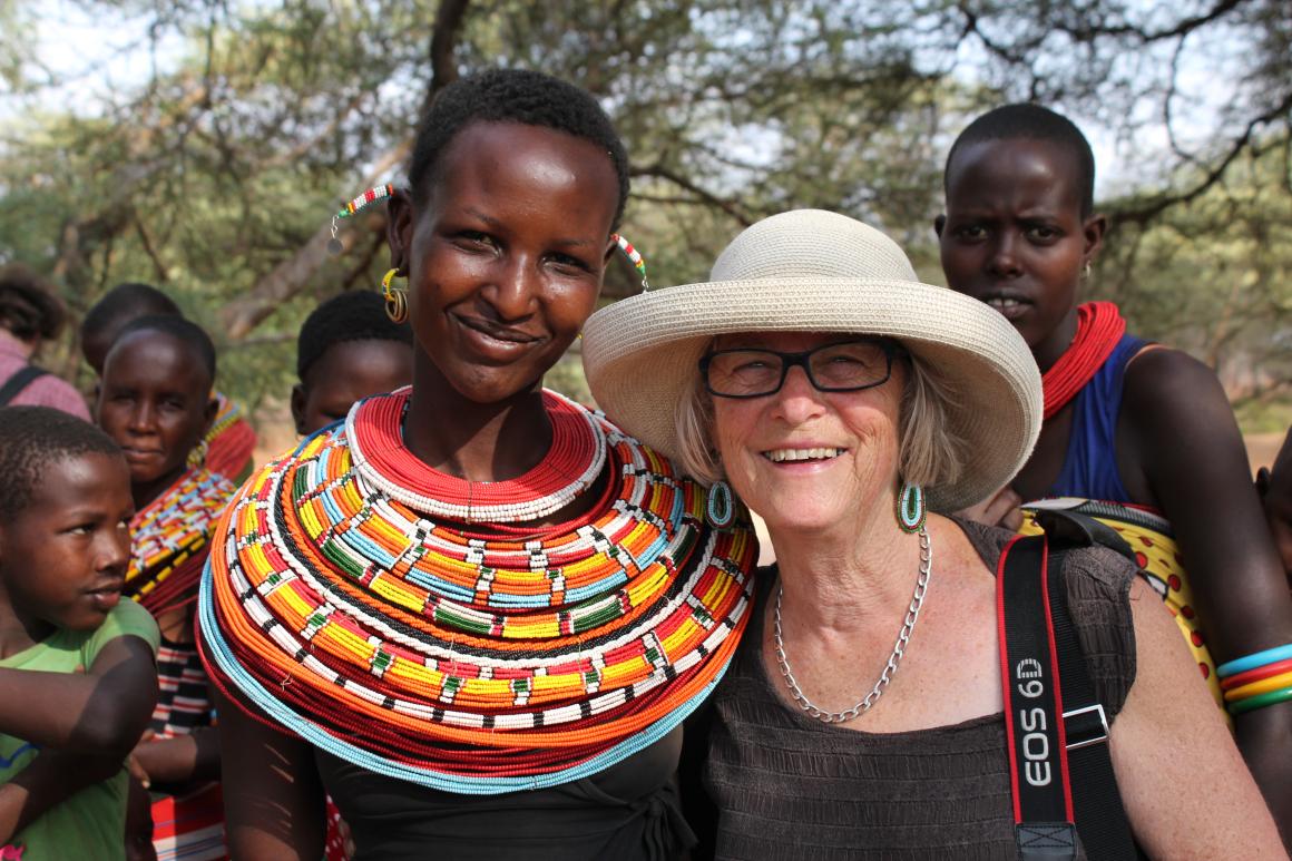 Mpaayon Loboitangu and Iris