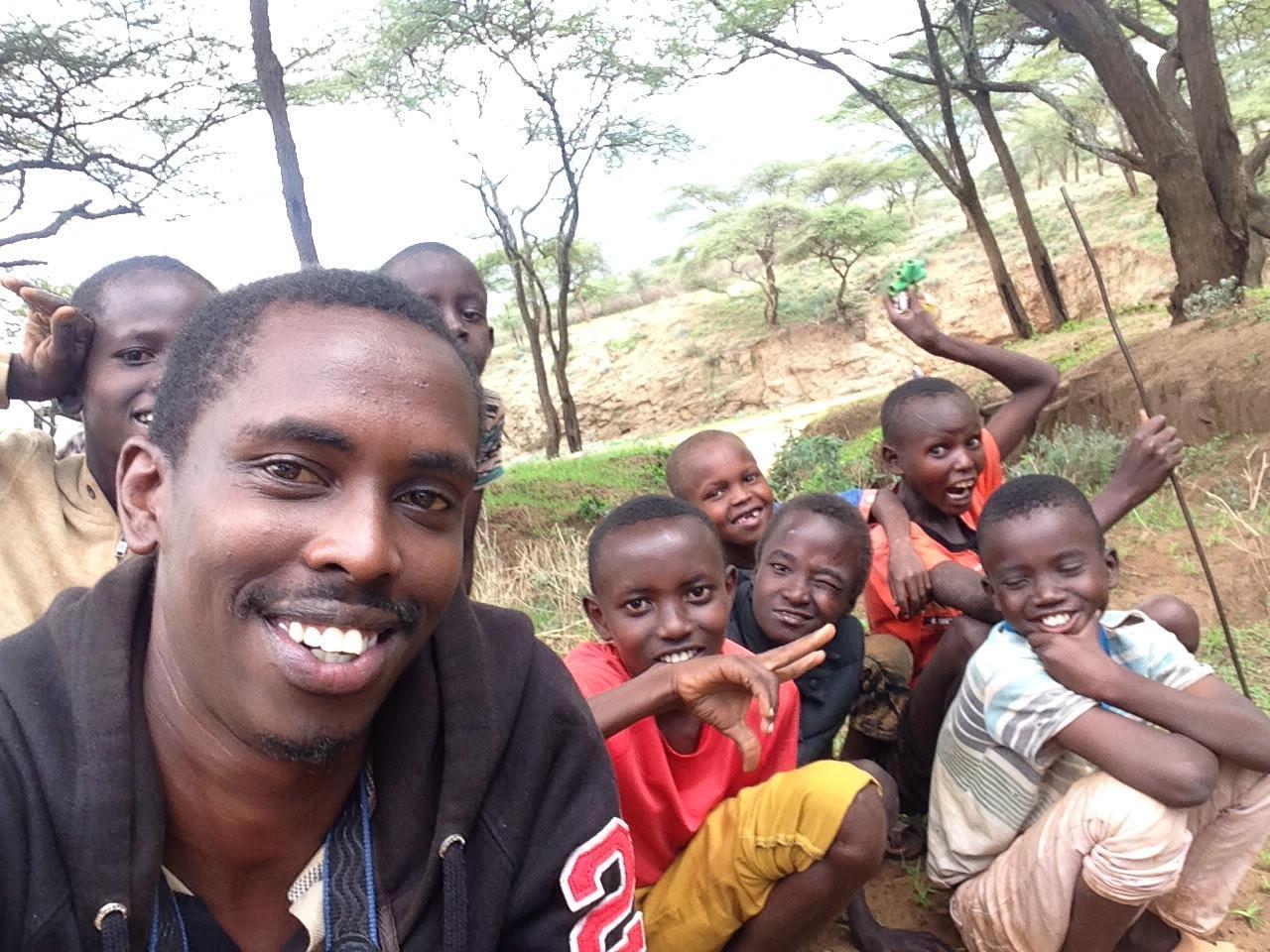 Joel Lenkupae, The Samburu Project Wamba Office Administrator