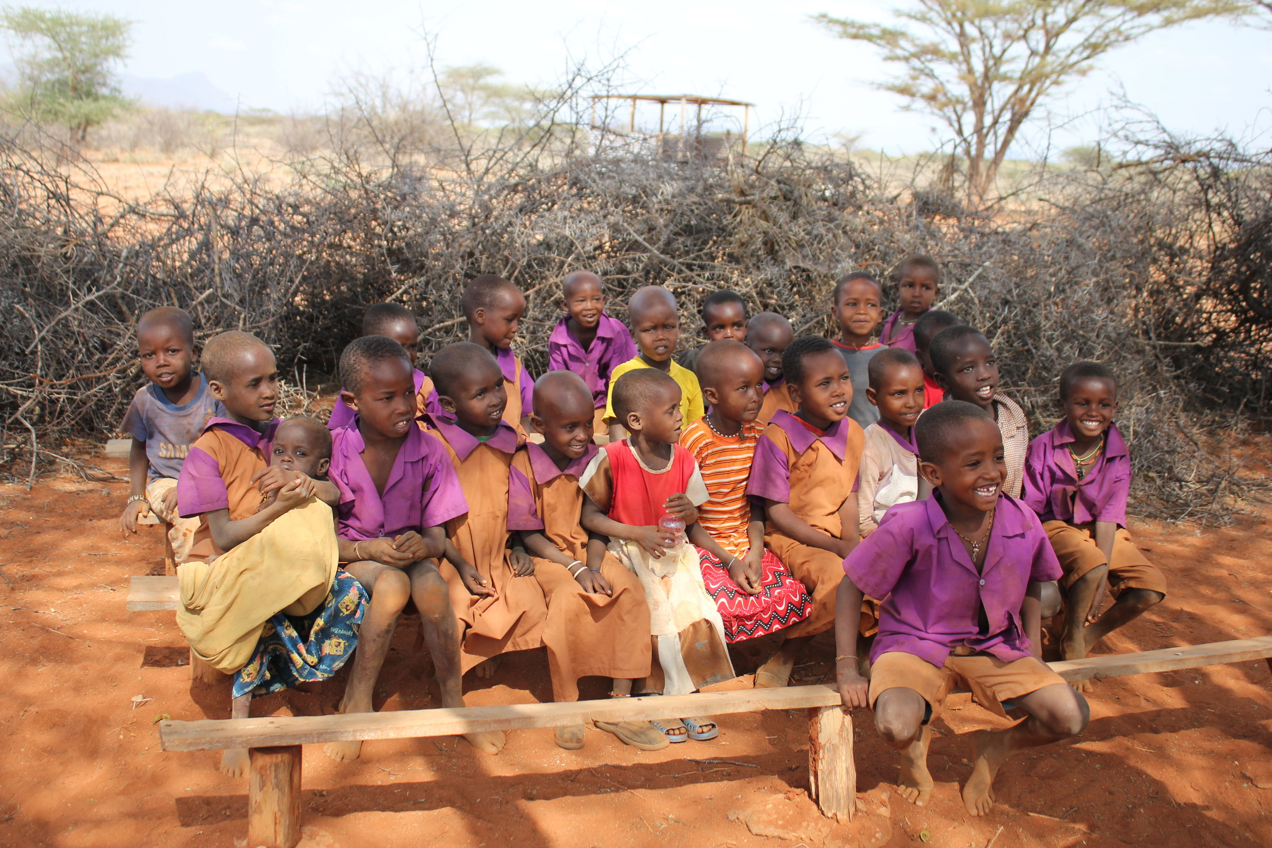 Children's Education, Water Access Samburu Kenya Africa