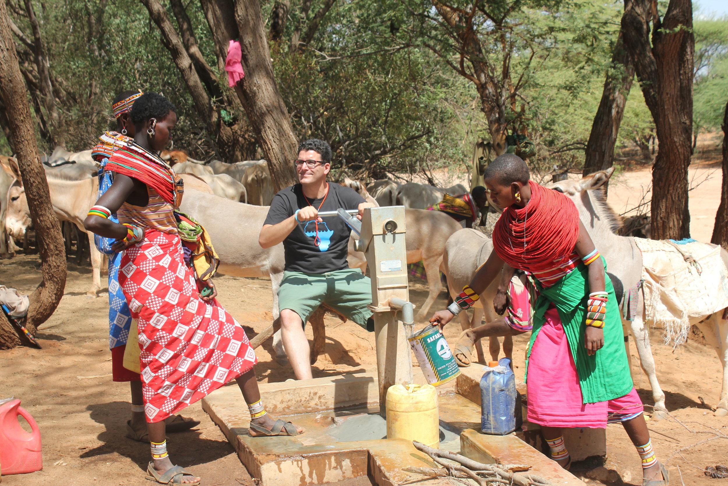 Water Well, Samburu Kenya Africa