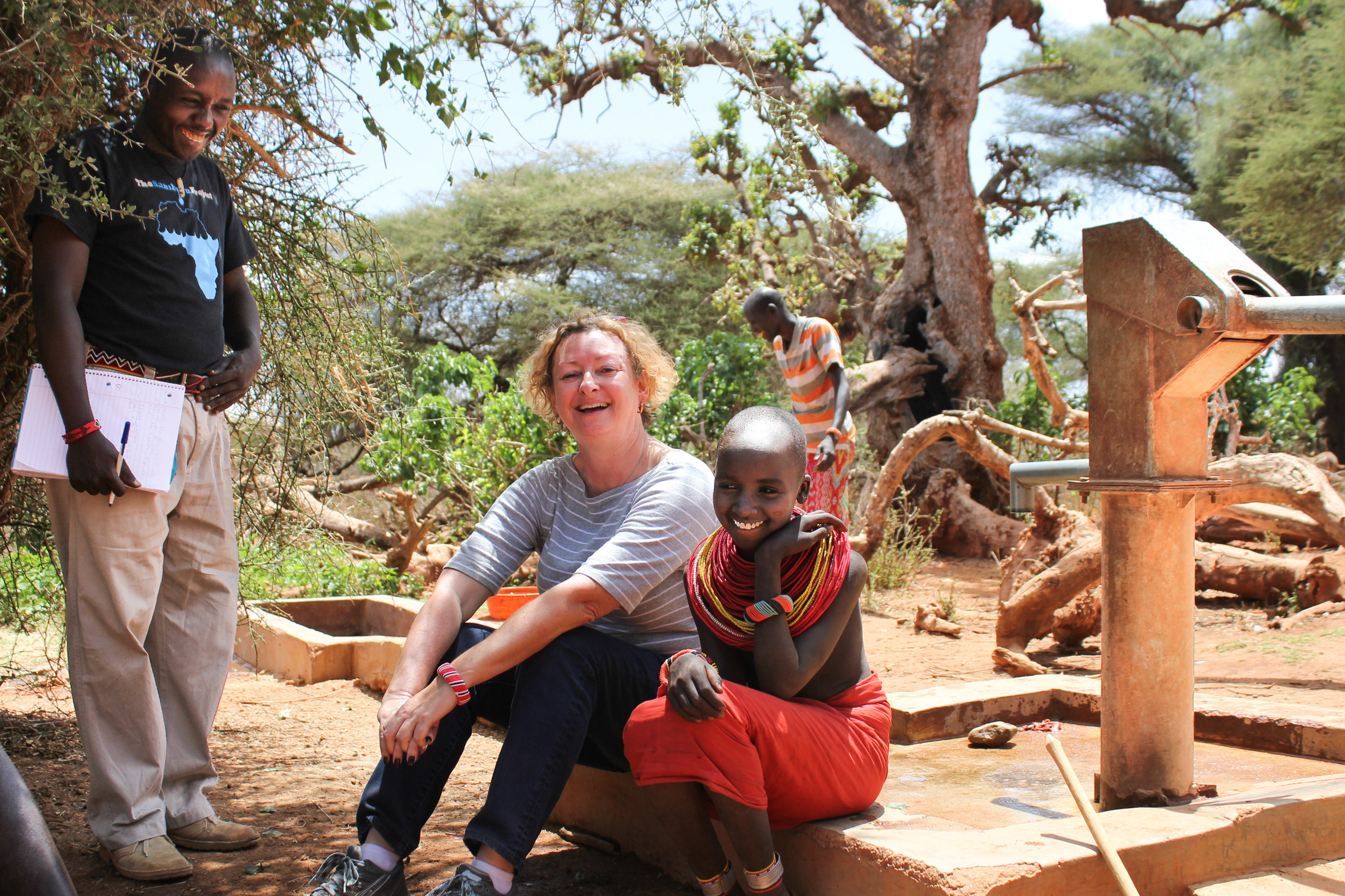 Linda Hooper, The Samburu Project Executive Director