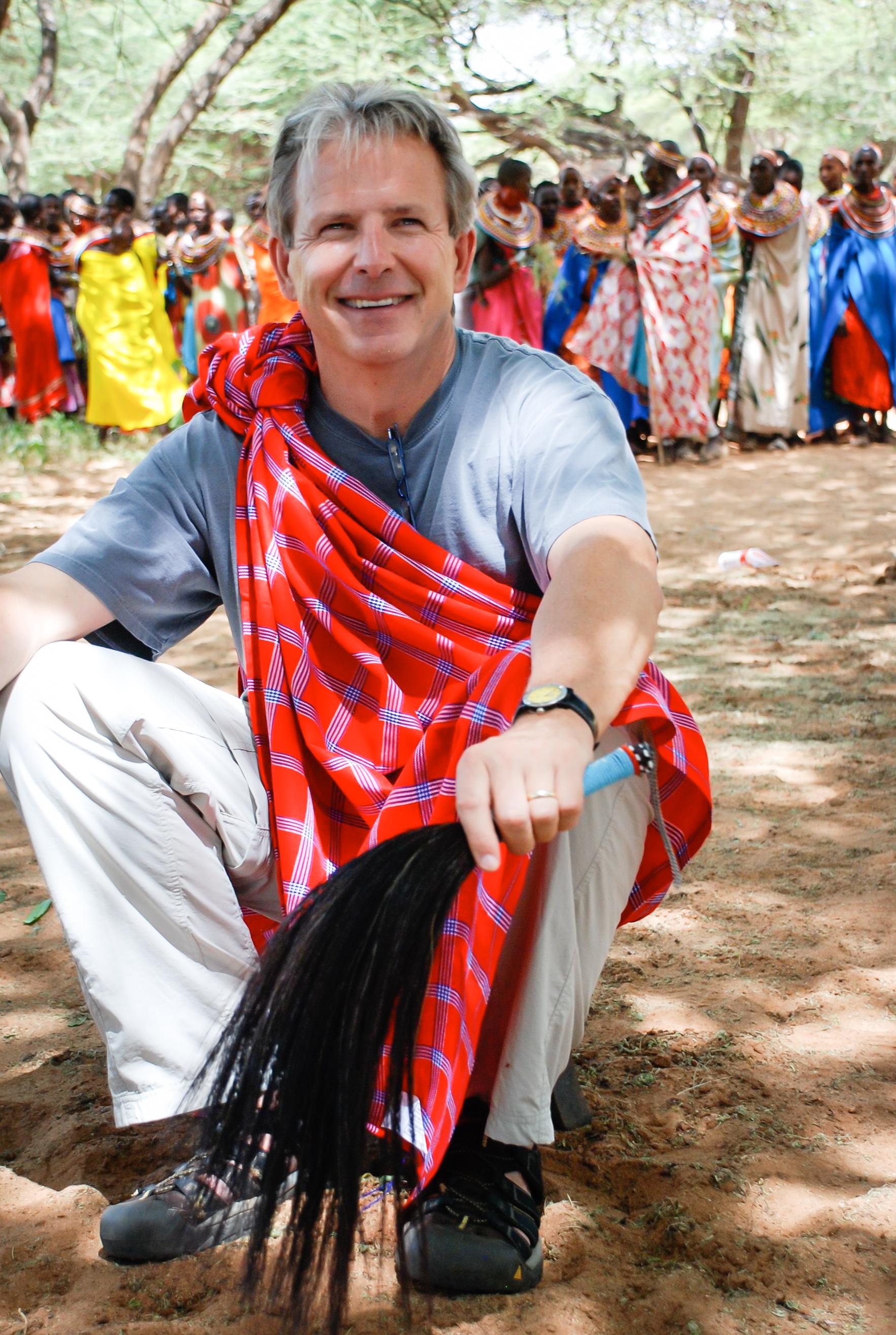 Bob Falkenberg, The Samburu Project Board Member
