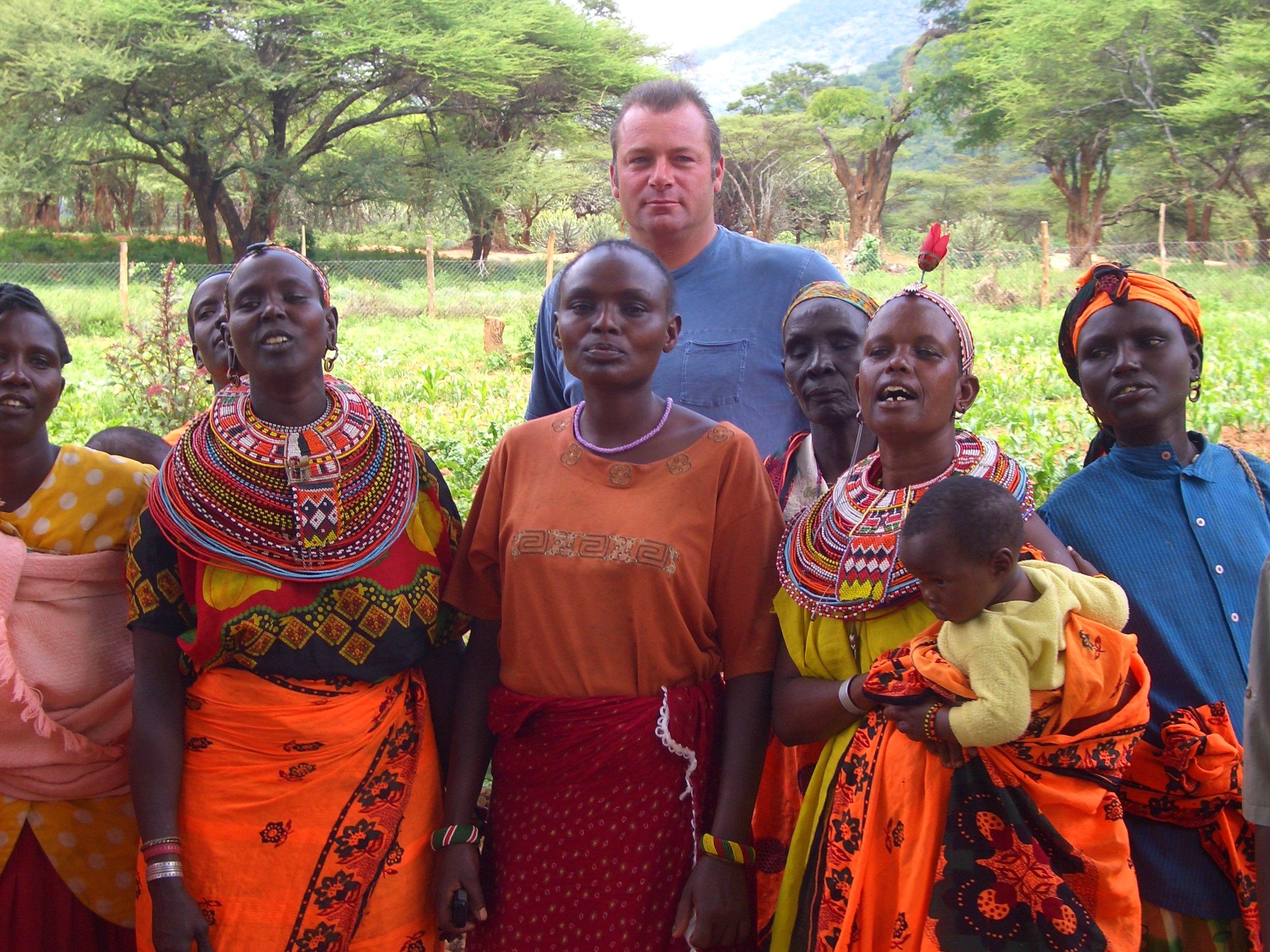 Mike Rossi, The Samburu Project Board Member Emeritus
