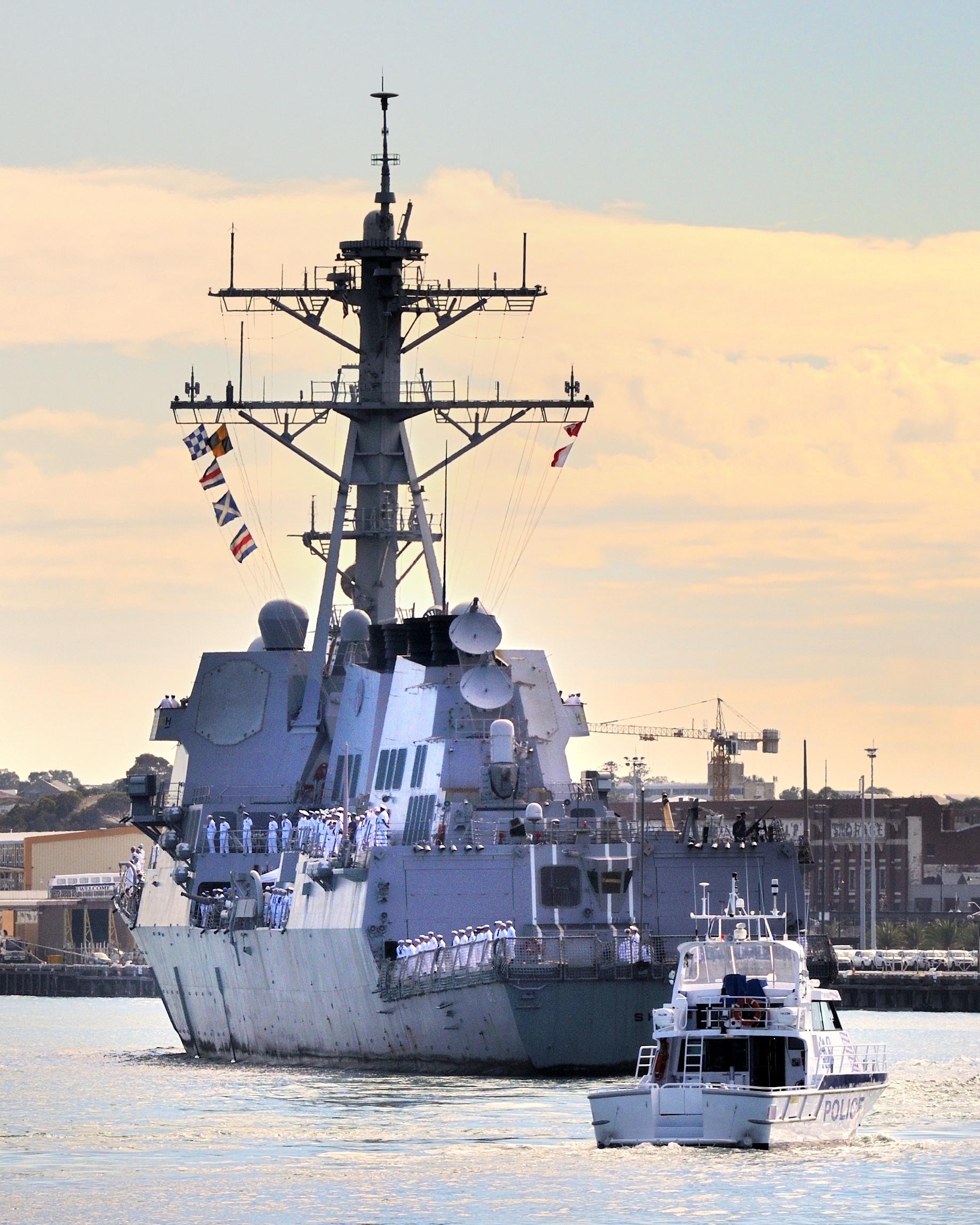 US Navy in Fremantle