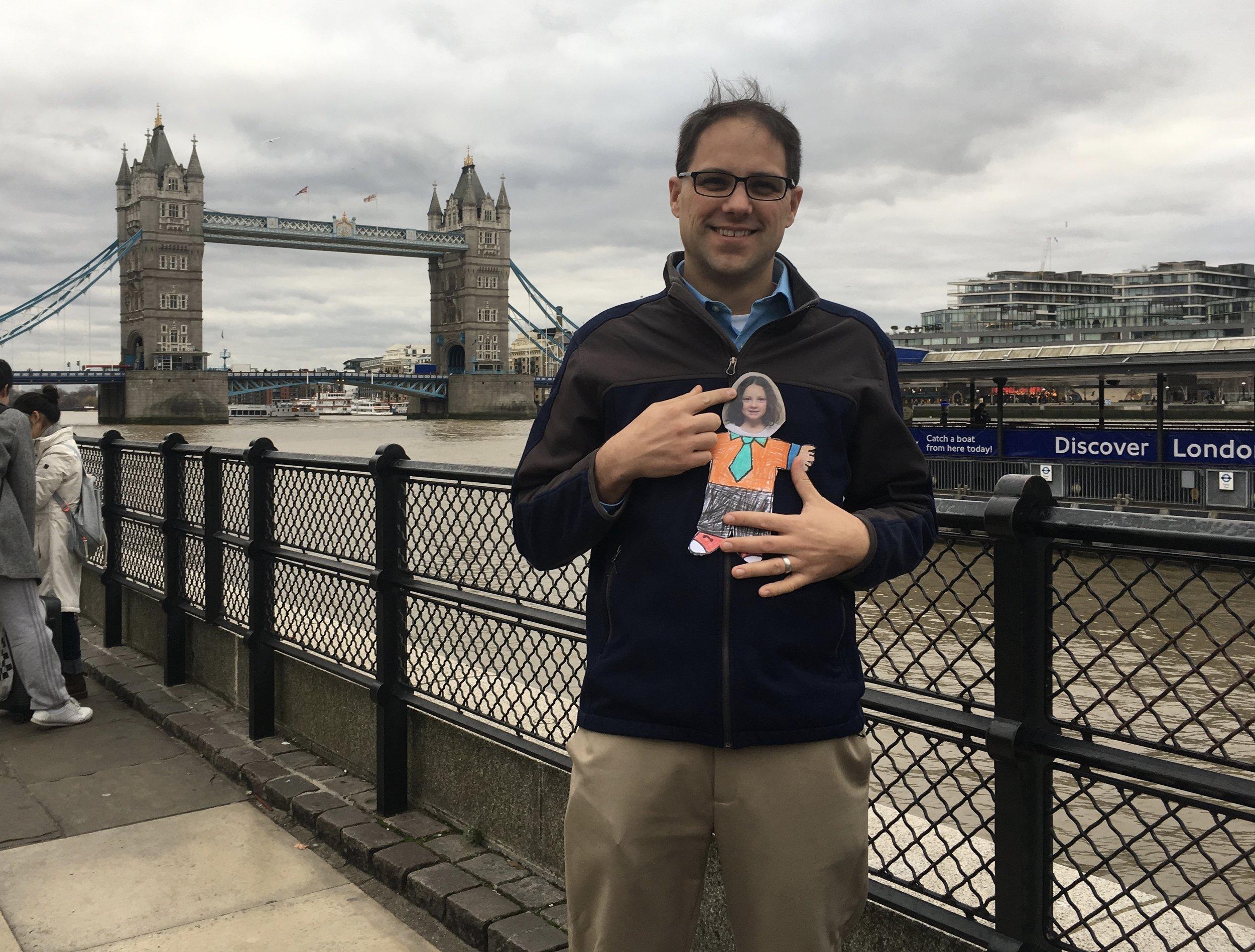 Shane in London as Emerge Business Accelerator finalist