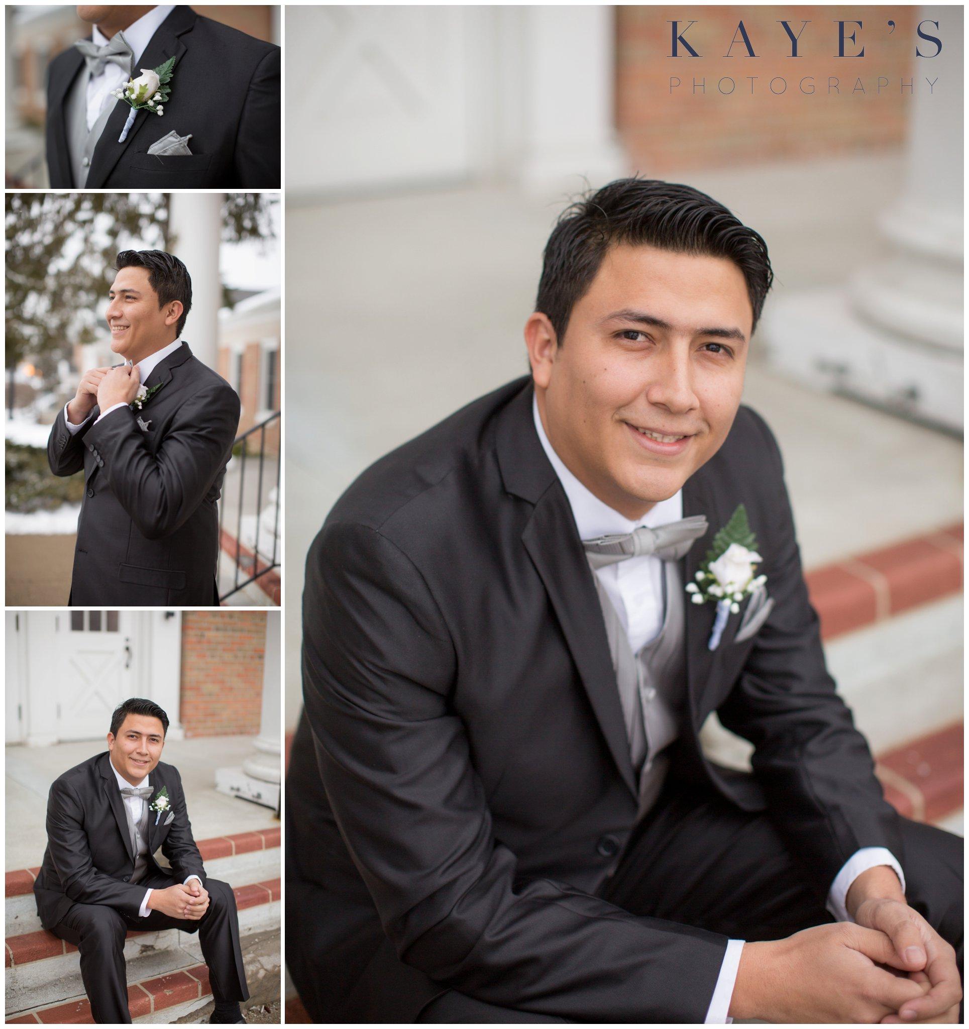 groom details, groom by himself, groom alone, just the groom, groom on steps, clarkston wedding ideas, clarkston wedding photography, clarkston wedding photographer ideas
