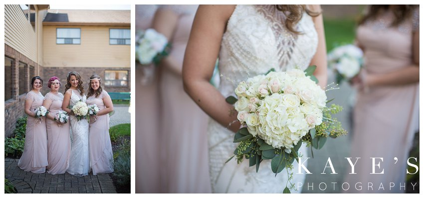 bridal details on the day of wedding in lapeer Michigan