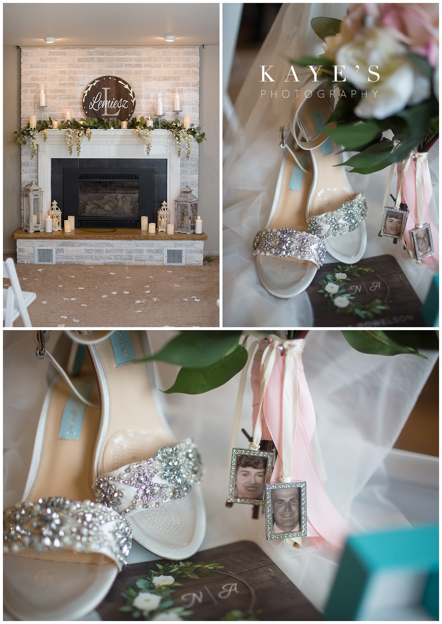 wedding details for a small intimate wedding in grand blanc michigan