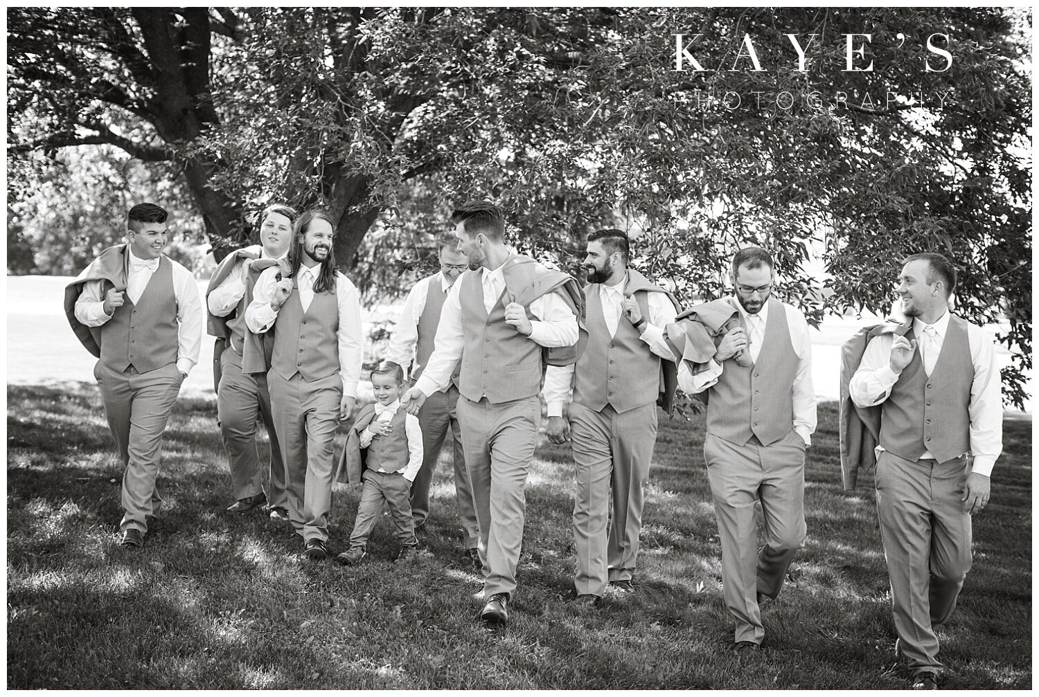 groom portraits before wedding ceremony at the captain's club in grand blanc michigan