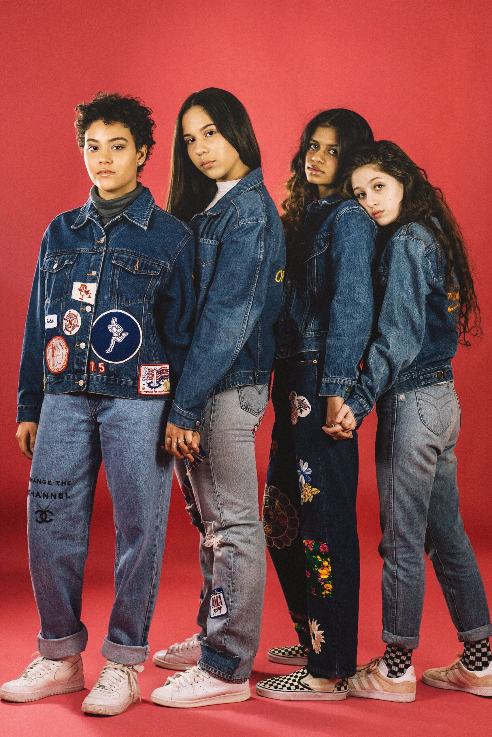 Photographer:  Third Pupil  · (Role)Models:  Alexis ,  Nazaret ,  Naushin ,  Giselle