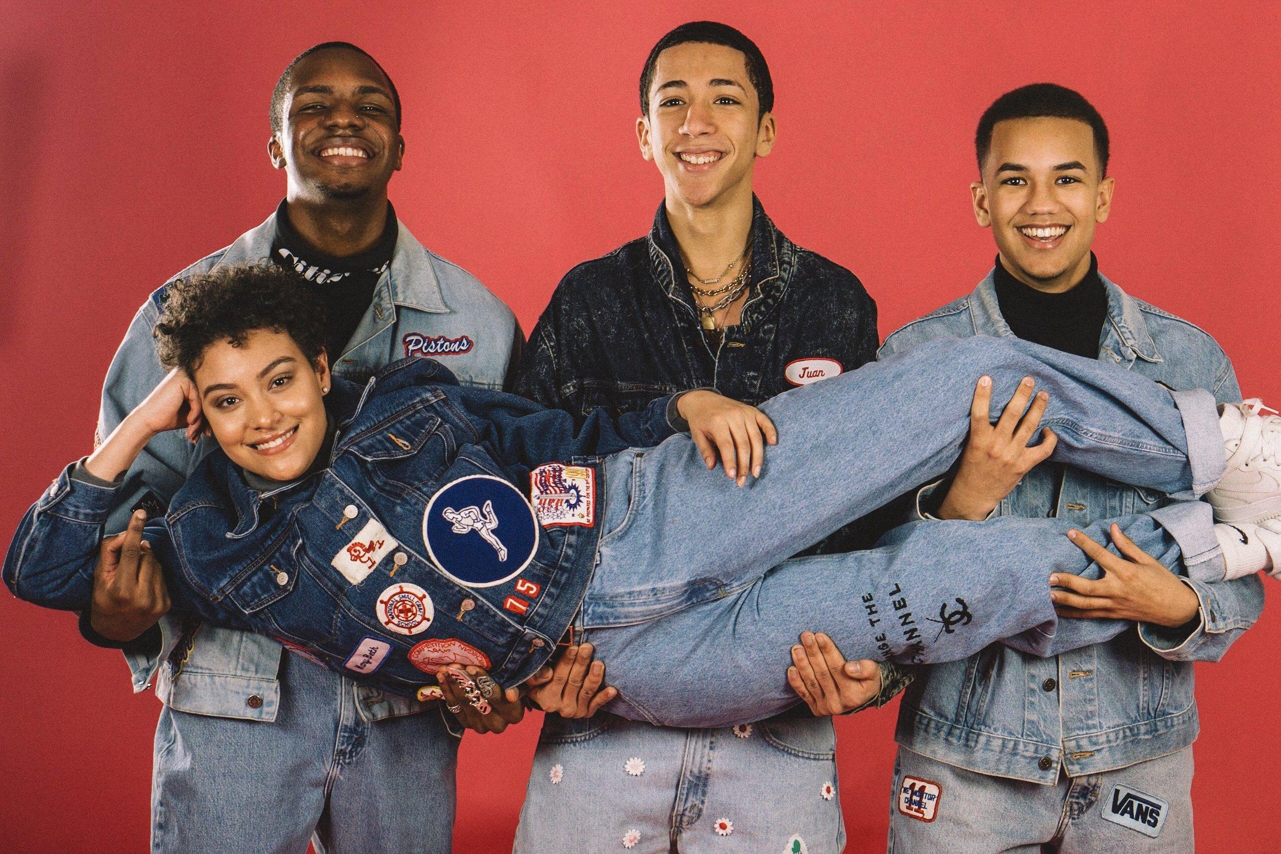 Photographer:  Third Pupil  · (Role)Models:  Alexis ,  Raheem ,  Felix ,  Danny