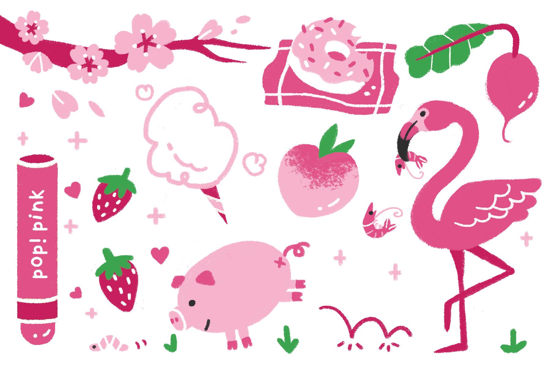 SoaPen Postcard - Pink