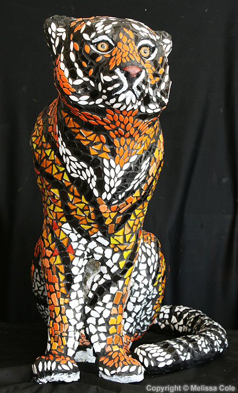 "FINISHED SCULPTURE ""LC Tiger"""
