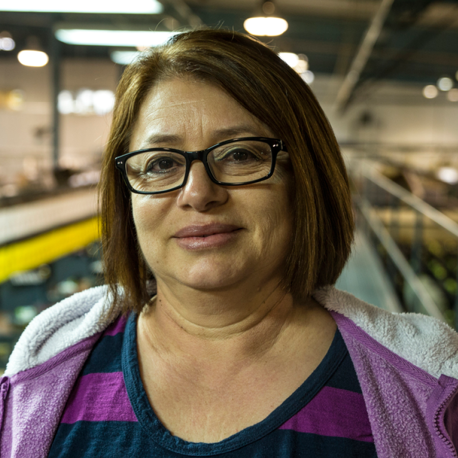 Maria Sandoval   Assistant Packing Supervisor