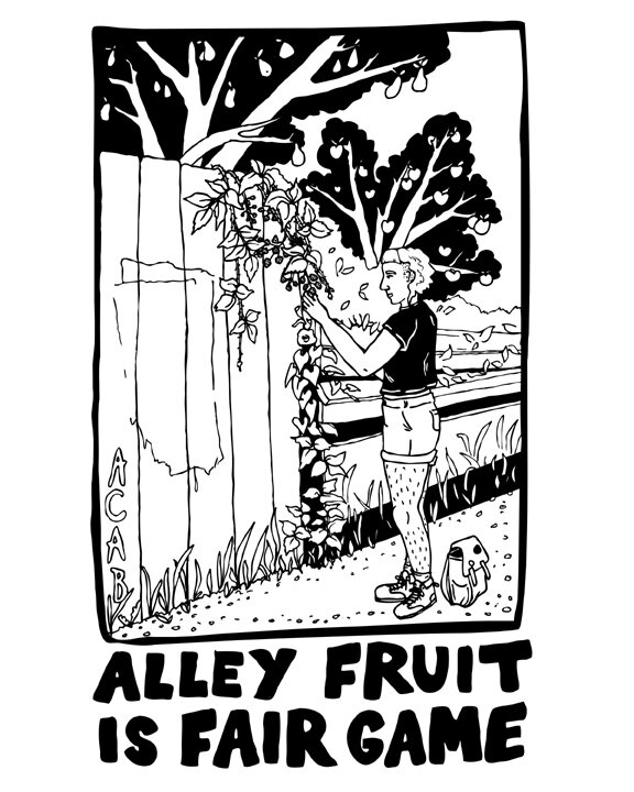 alley fruit is fair game
