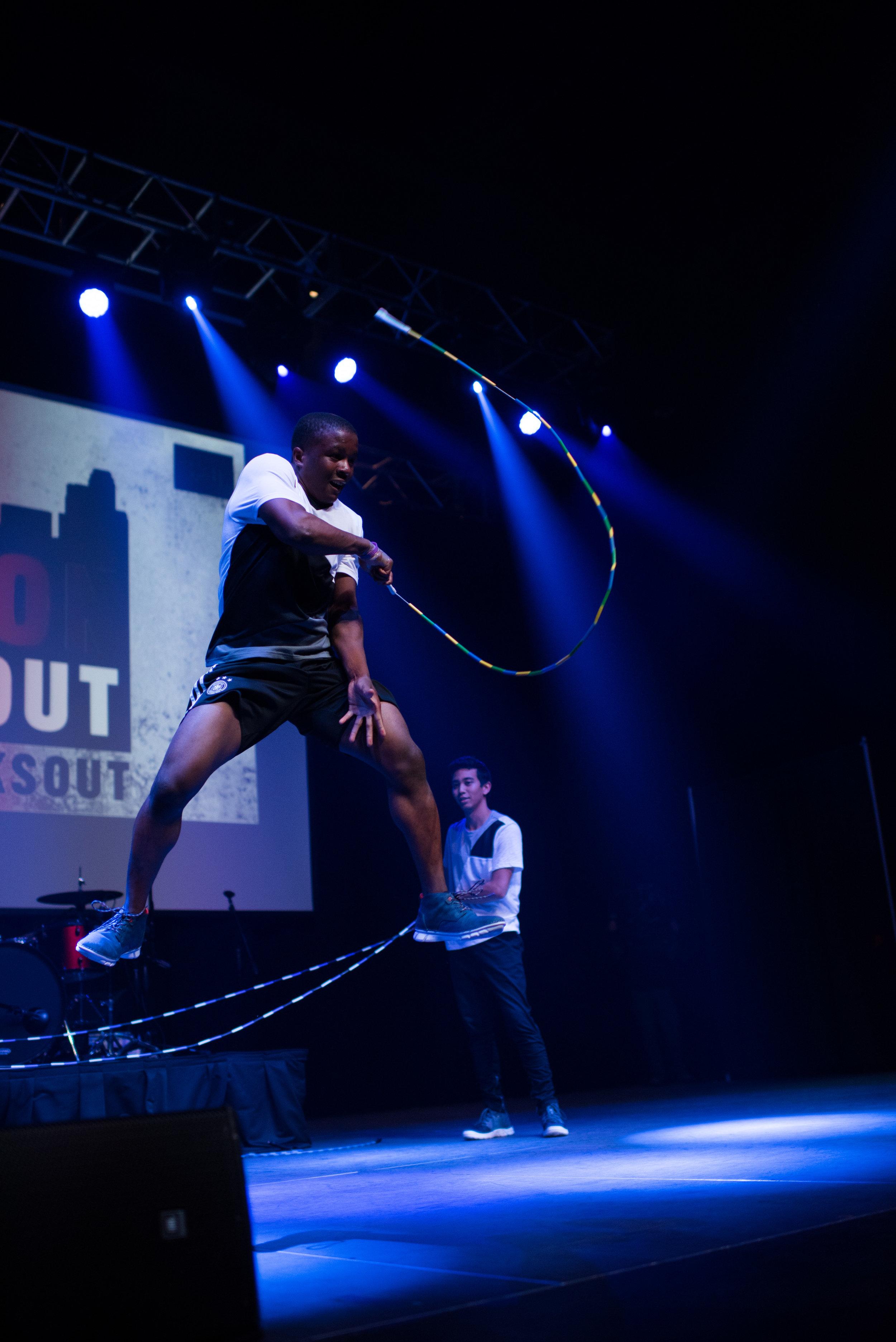 jump rope performance