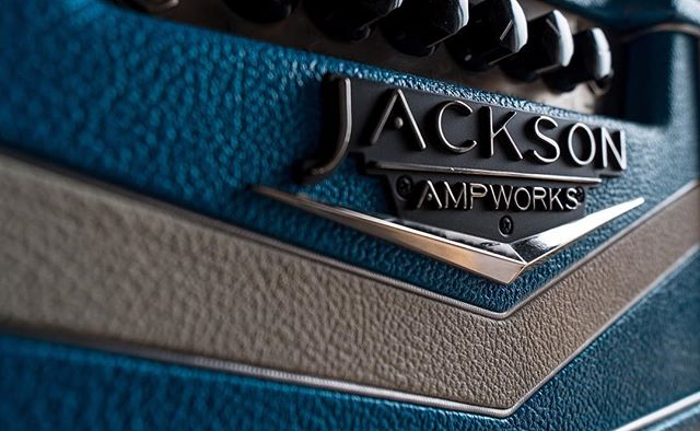• JACKSON BRITAIN 🇬🇧 •  my favourite for clean/crunch tones. I run this guy through a Custom Engl 2X12, Coupled with a pair of API 512c's, a 57 and a Coles 4038. It's one of the many cool toys to play with at Clique.