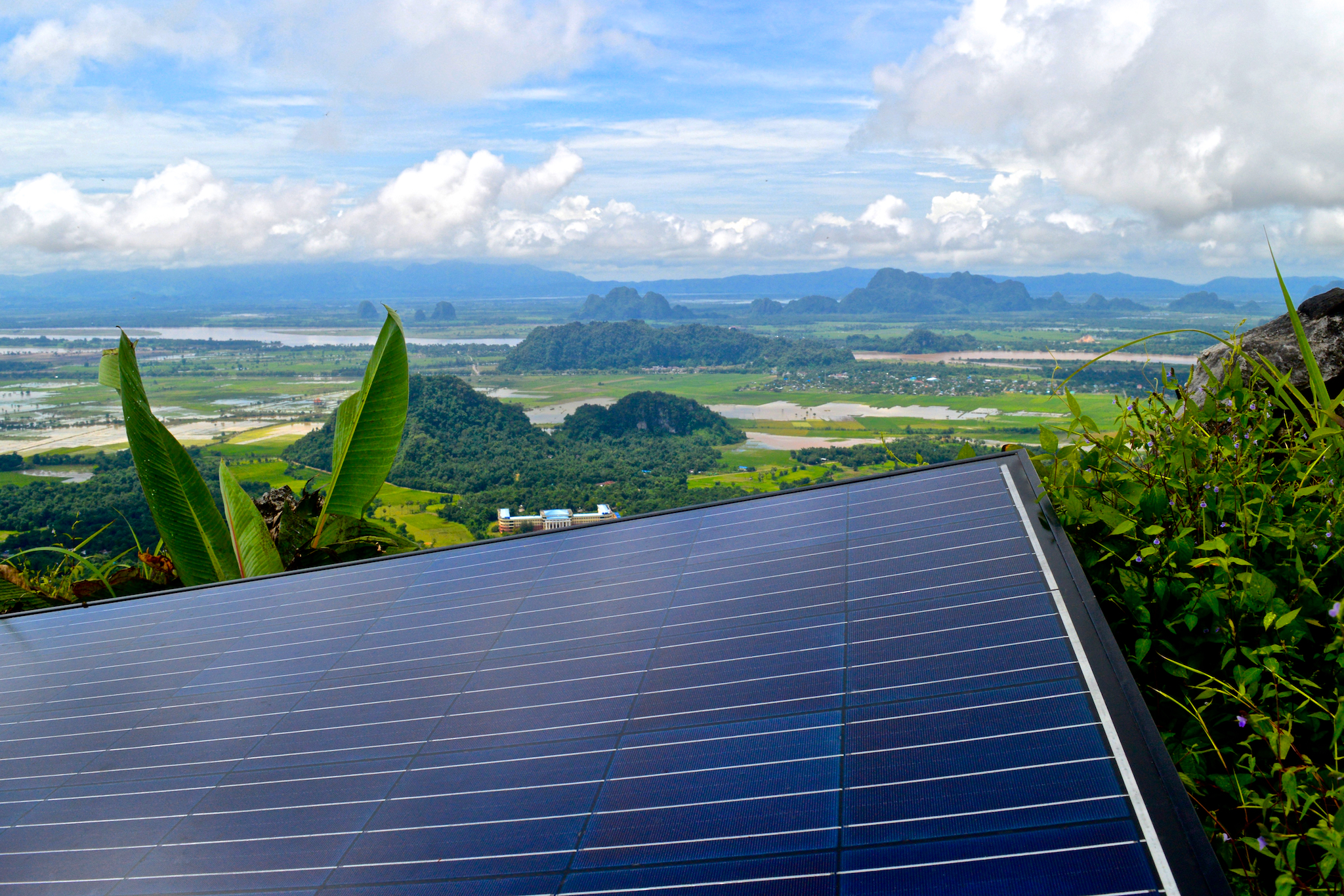 EAM Myanmar - -leading the way in solar power in Myanmar