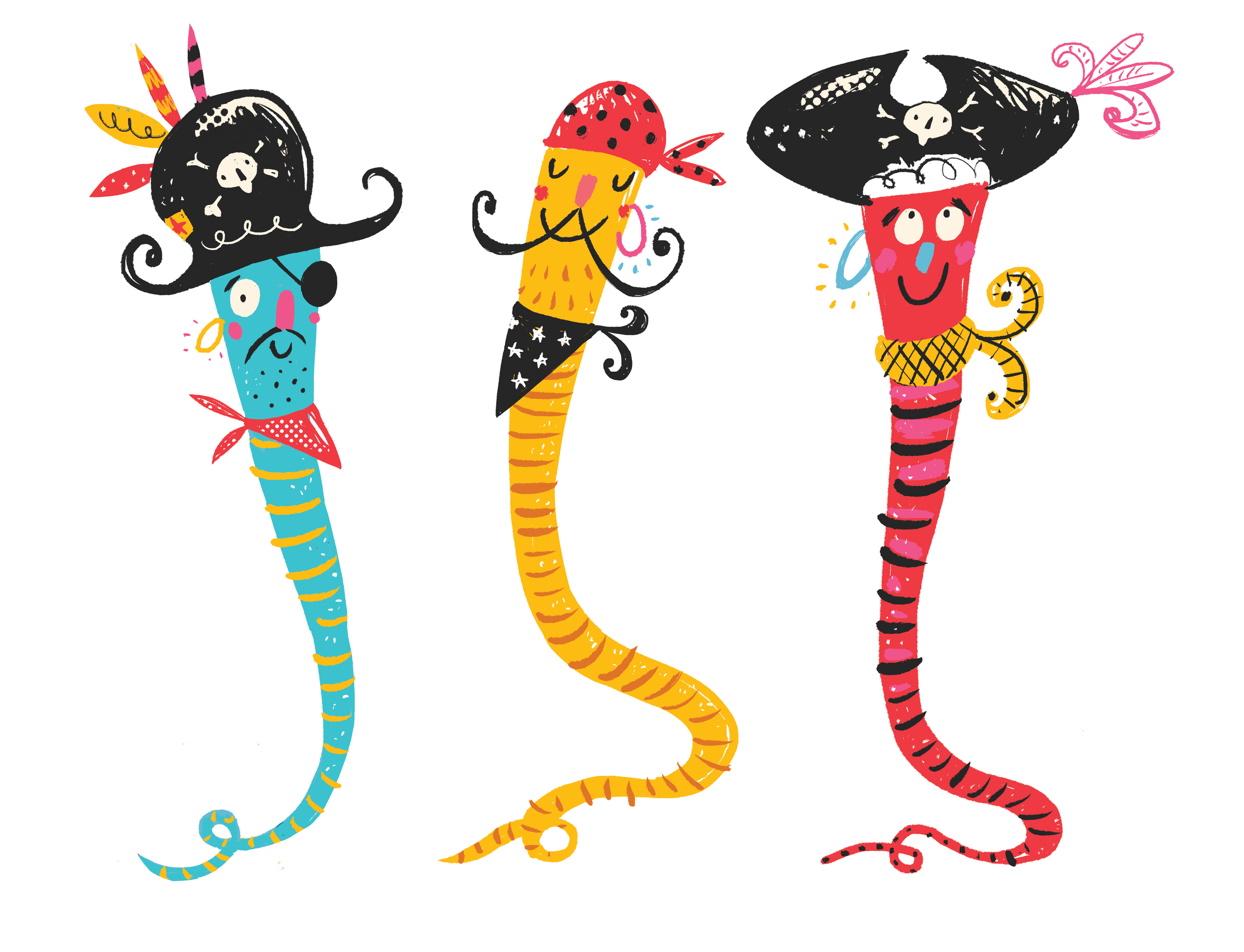 """Pirate Worm crew"" 2015"