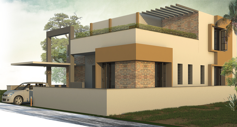 THREE GEN HOUSE ./