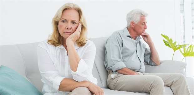 Image: Marriage and relationship dynamics can be challenged in retirement