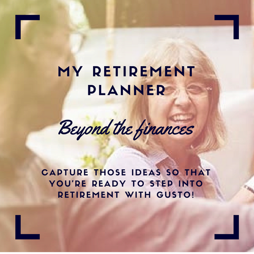 "- In planning for a holiday we always think ""we need to go there"" and ""we should see that"" but when Day One of our holiday arrives, we draw a blank…What were all of those things we were going to enjoy? In the busyness of life they've slipped our mind.Don't let this happen to your retirement. Download the My Retirement Planner and start capturing those ideas and inspiration so that you're ready to step into retirement with gusto!"