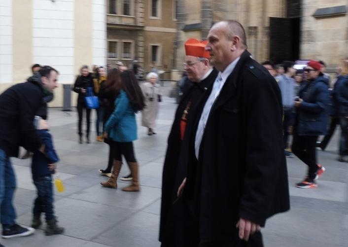 The Cardinal has left the building .         Photograph: Alex Bertulis-Fernandes