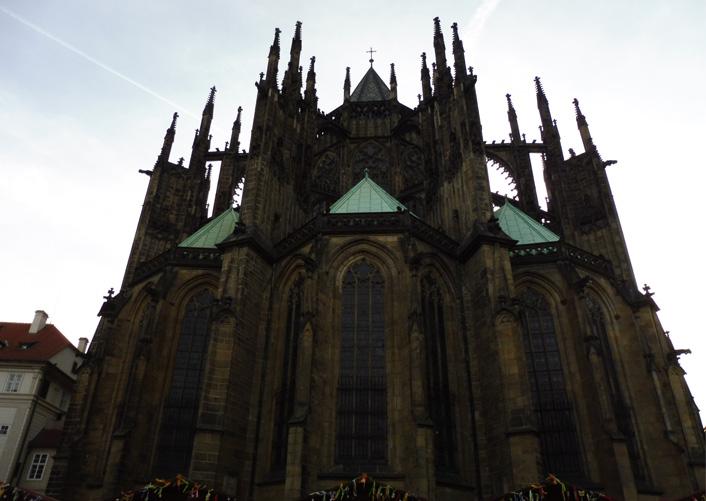 St Vitus Cathedral.                  Photograph: Alex Bertulis-Fernandes