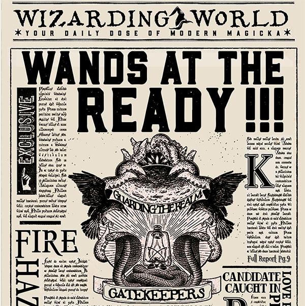 Wands At The Ready! -