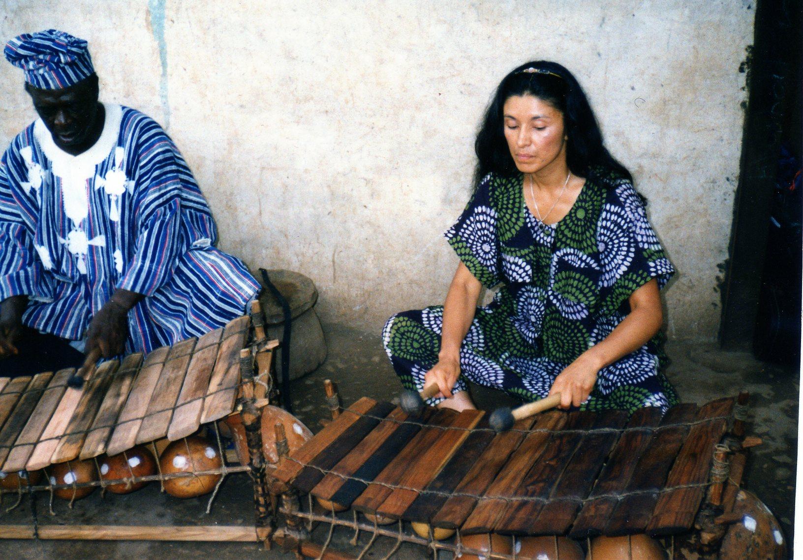 Kakraba Lobi and Valerie Naranjo Photo by Kofi Missio