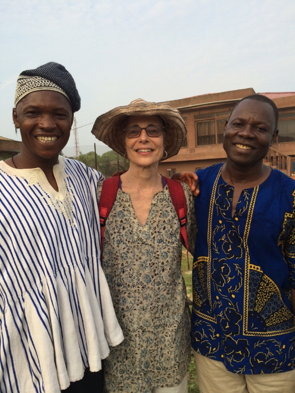 fROM lEFT: bA'ERE yOTERE, wENDY pERRON, sULLEY iMORO Photo by uNKNOWN