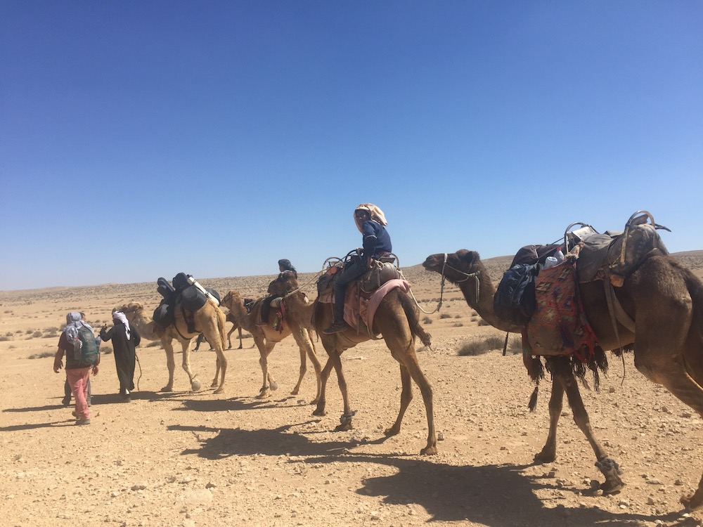 The journey from Ezuz to Mitzpeh Ramon Photo by Andy Teirstein