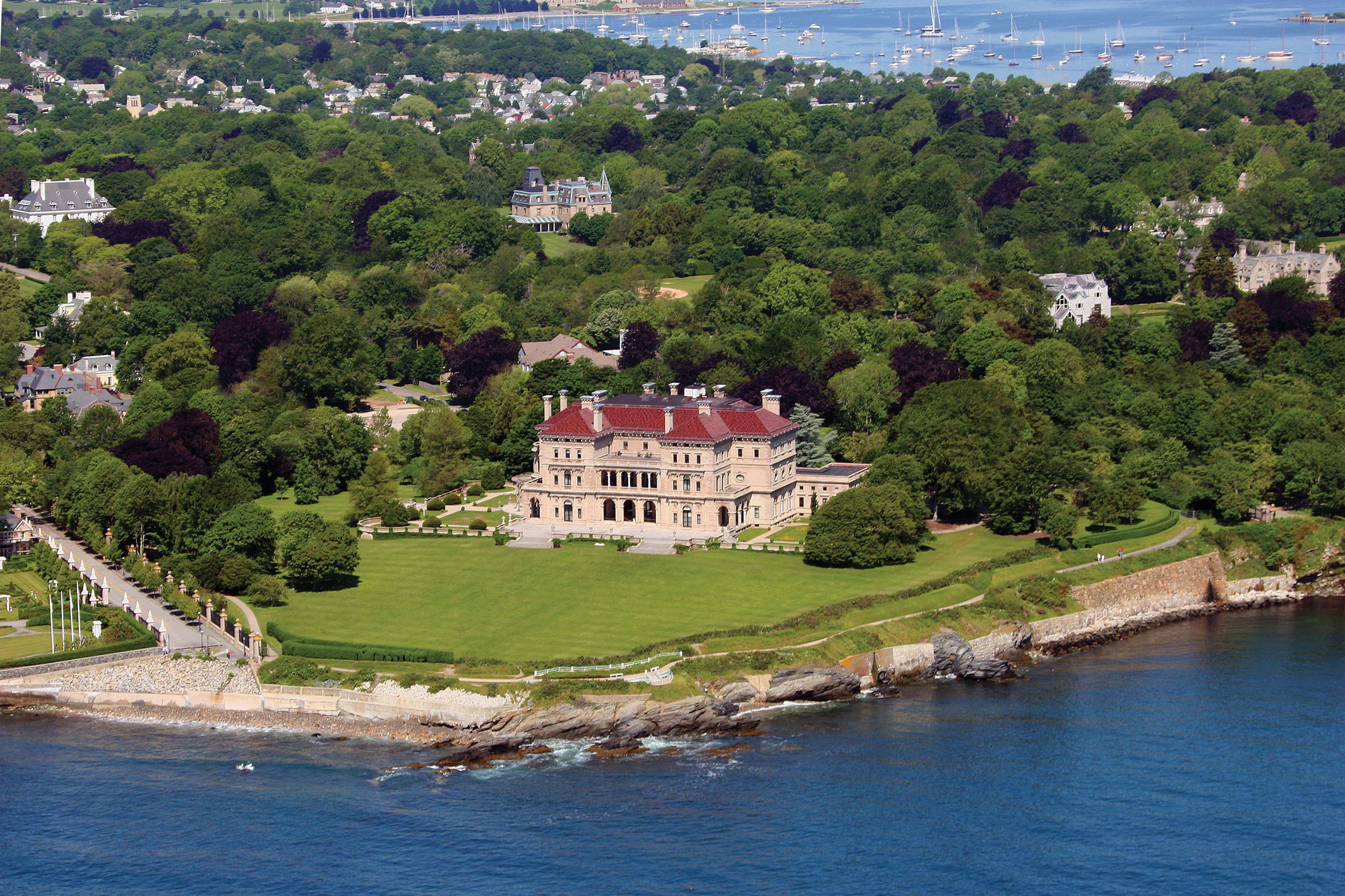 Mansions in Newport, Rhode island