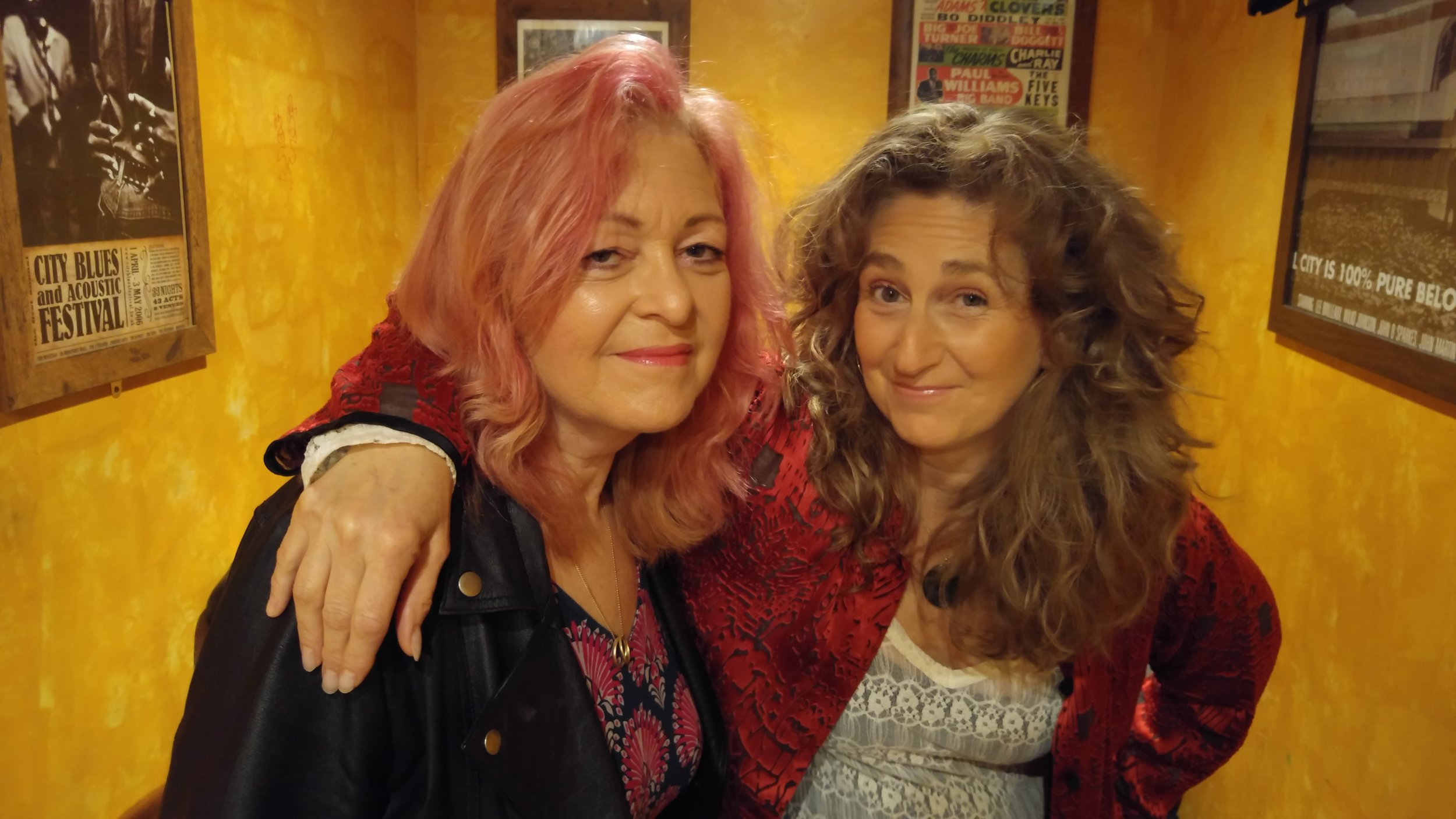 Sally Barker with Vicki Genfan 2016.jpg