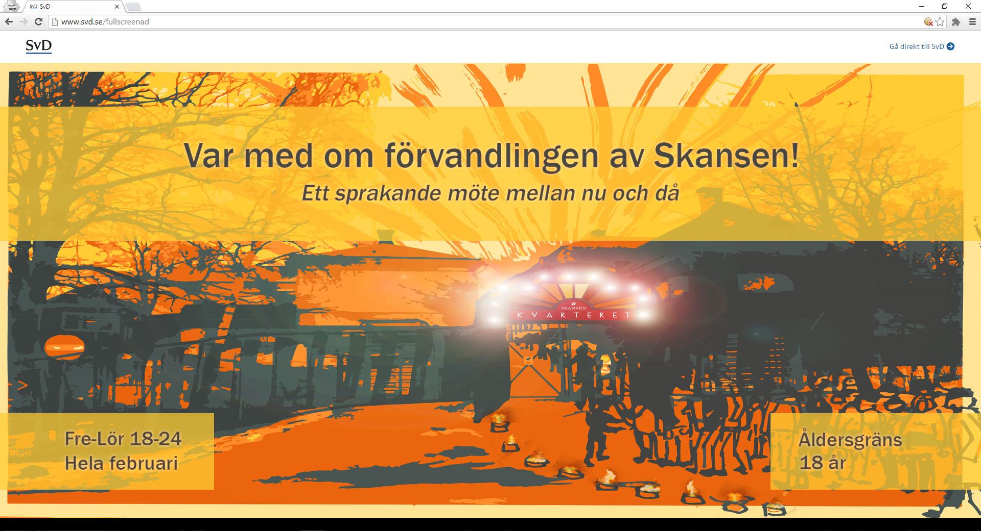 Vår idé tog form. Vi skulle kombinera den historia Skansen bevarar med lusten att lära och skapa nya saker. Vi skulle lyfta de historiska aktiviteterna ut ur bodarna och in i en varm och festlig kvällsmiljö.