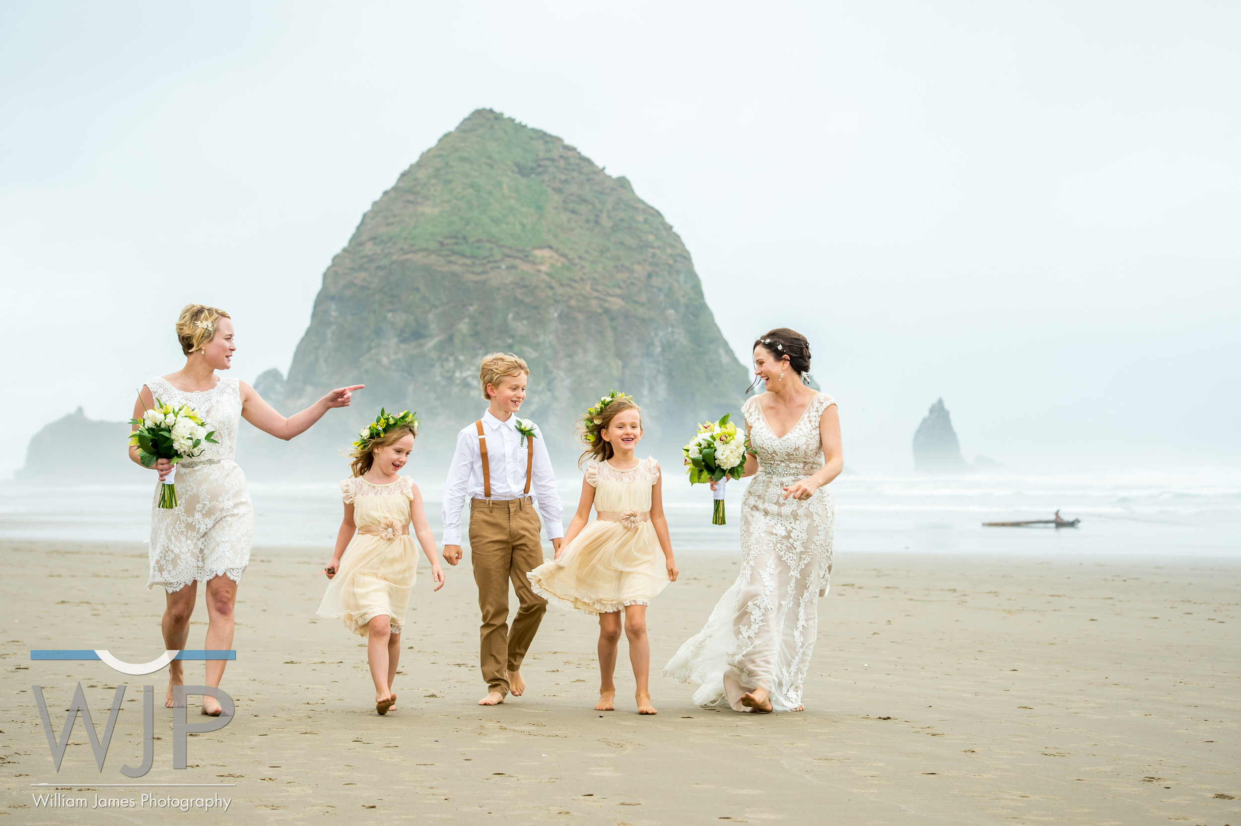 Cannon Beach Same Sex Wedding