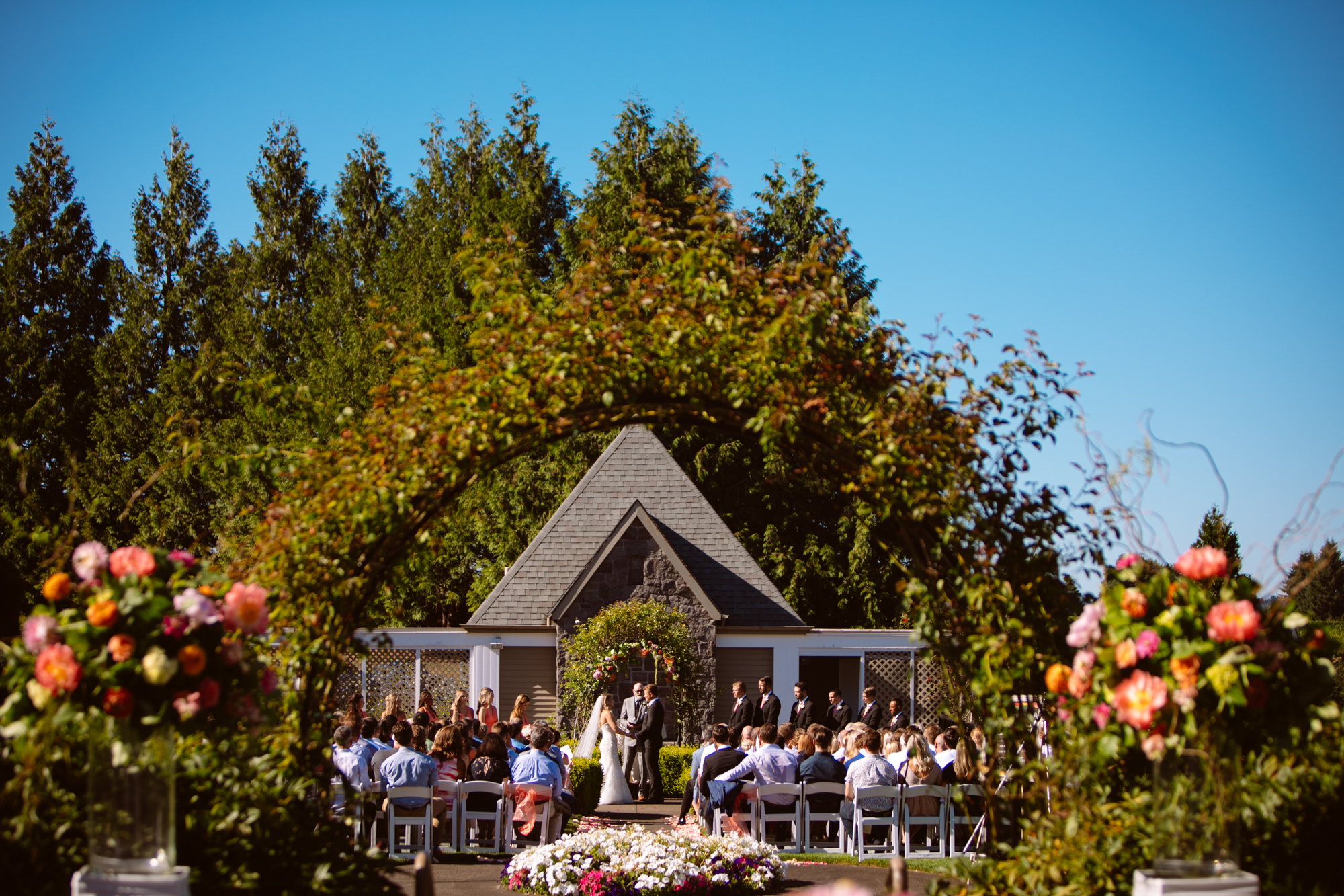 Country Club Wedding Ceremony