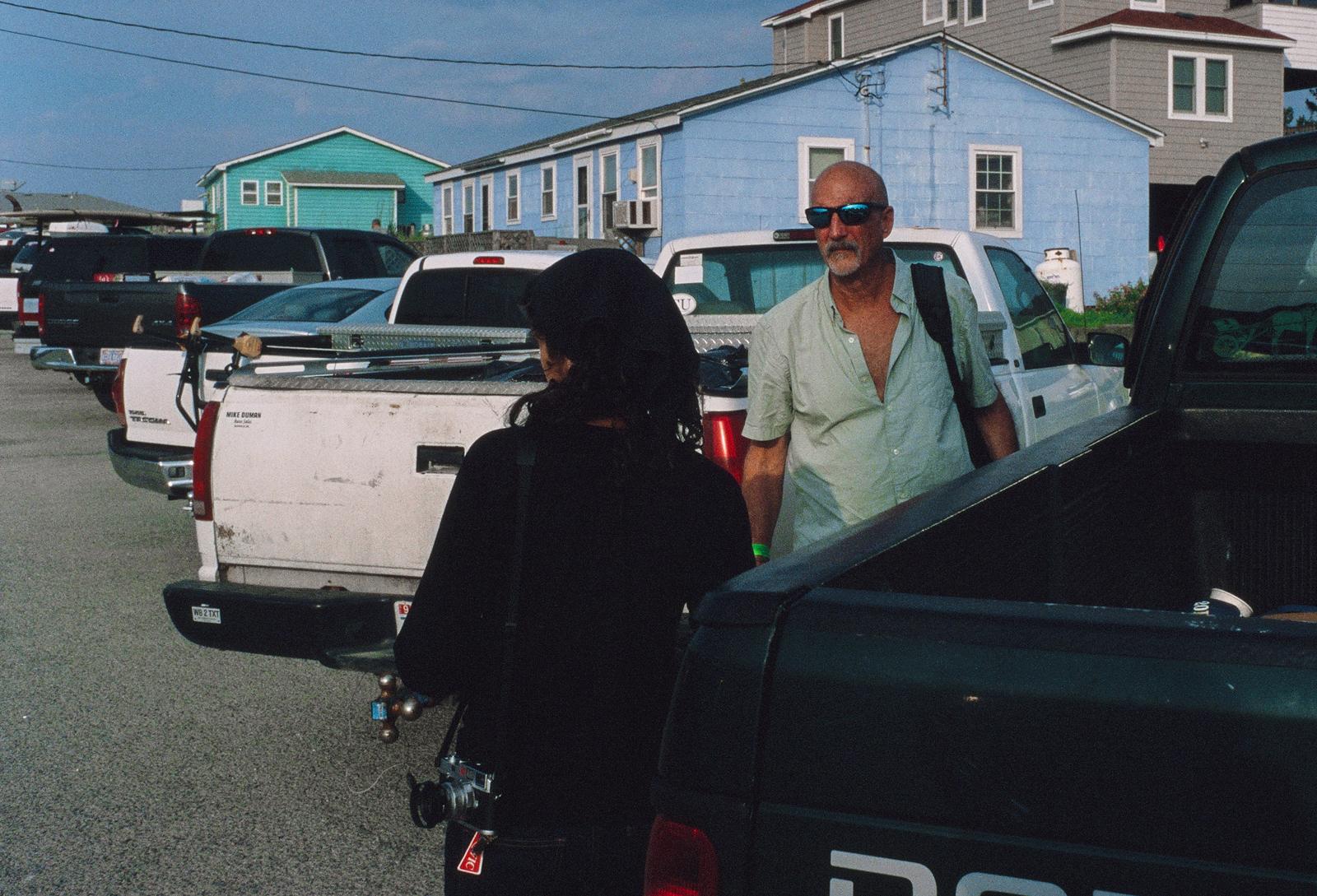 David Alan Harvey, Outer Banks, NC, 2012. Photo by Jordan Weitzman