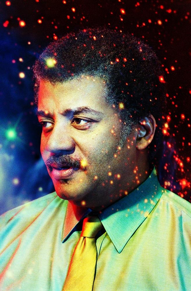 Neil deGrasse Tyson. Photo by Pari Dukovic for the New Yorker