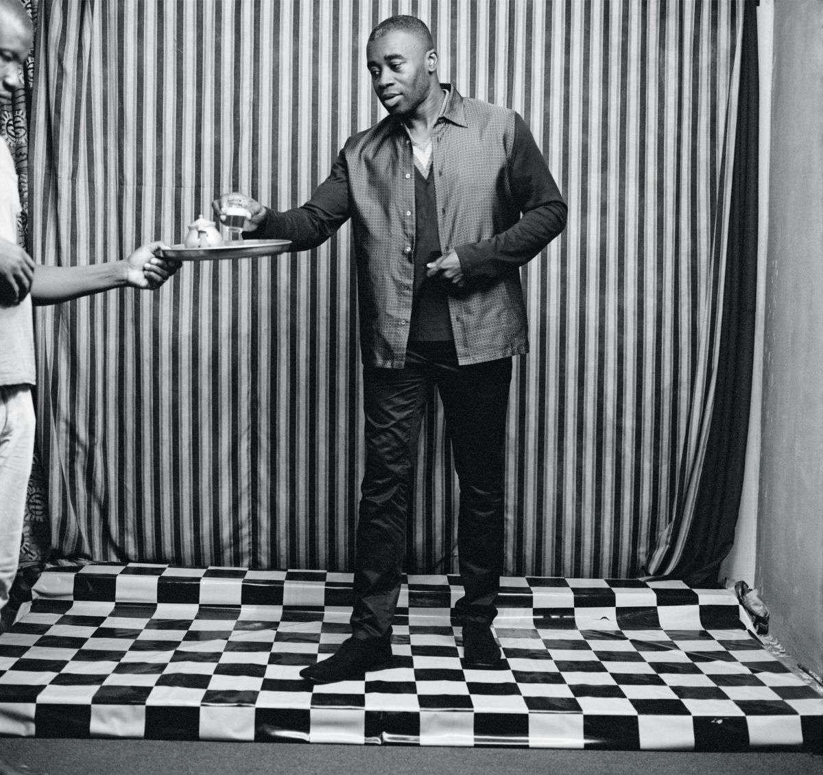 Chris Ofili. Photo by Malick Sidibé