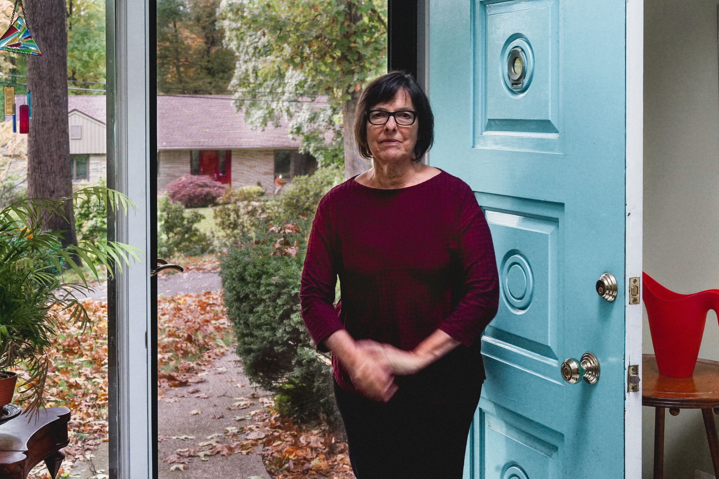 Mary Frey, Longmeadow, MA, 2018 . Photo by Jordan Weitzman